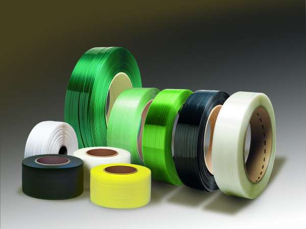 STRAPPING POLYESTER 3/4'' X 2400'  2400LBS (16  X 6 ) GREEN (HPC3450G) 0.050