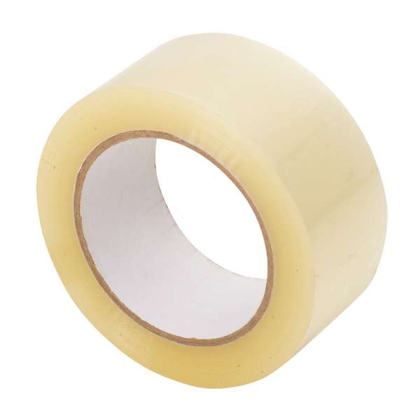 TAPE CLEAR 2  X 1,000Yd 1.6Mil HOT MELT #605